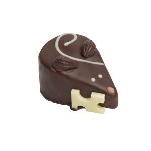 Bouchée Souriceau, chocolat noir