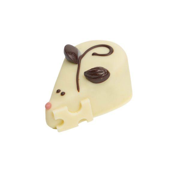 Bouchée Souriceau, chocolat blanc