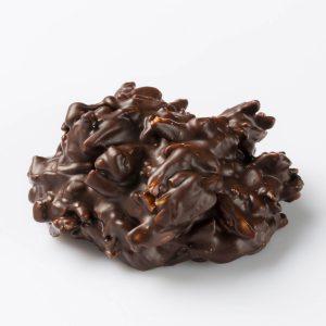 Bouchée Rockamande, chocolat noir