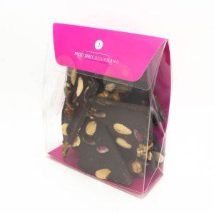 Eclats fruits secs et chocolat noir