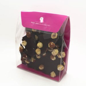 Eclats noisettes et chocolat noir