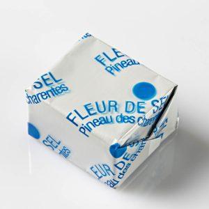 Pavé Fleur de sel et Pineau des Charentes