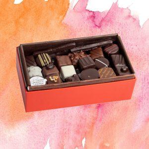 Balloboite chocolat ouvert
