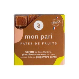 Apéritive carotte, pamplemousse, gingembre