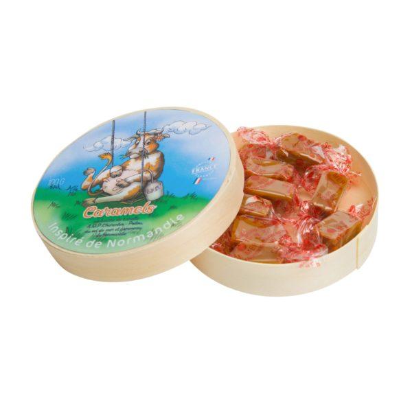 Vache - Papillotes de caramels au sel marin et Pommeau normand