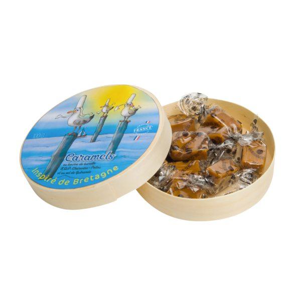 Mouettes - Papillotes de caramels au sel de Guérande